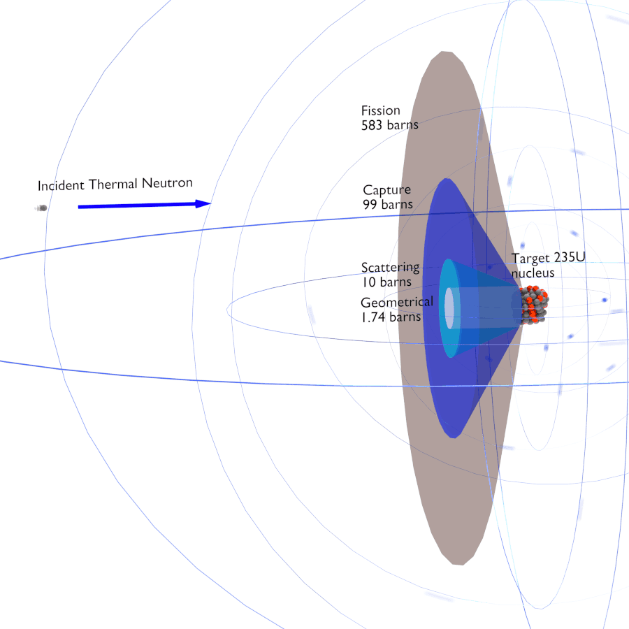 Neutron Cross Section Nuclear Power Png Atom Diagrams Of Atoms And Isotopes Http Chemistry About Definition