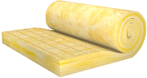 Glass wool - thermal insulation