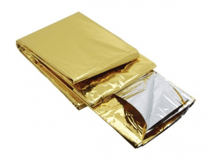 emergency thermal blanket - space blanket